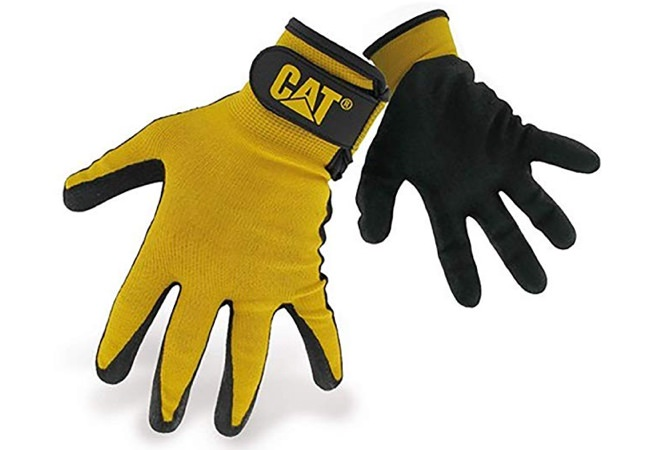 Caterpillar Yellow Nylon