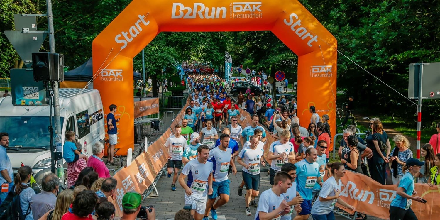 B2Run in Freiburg