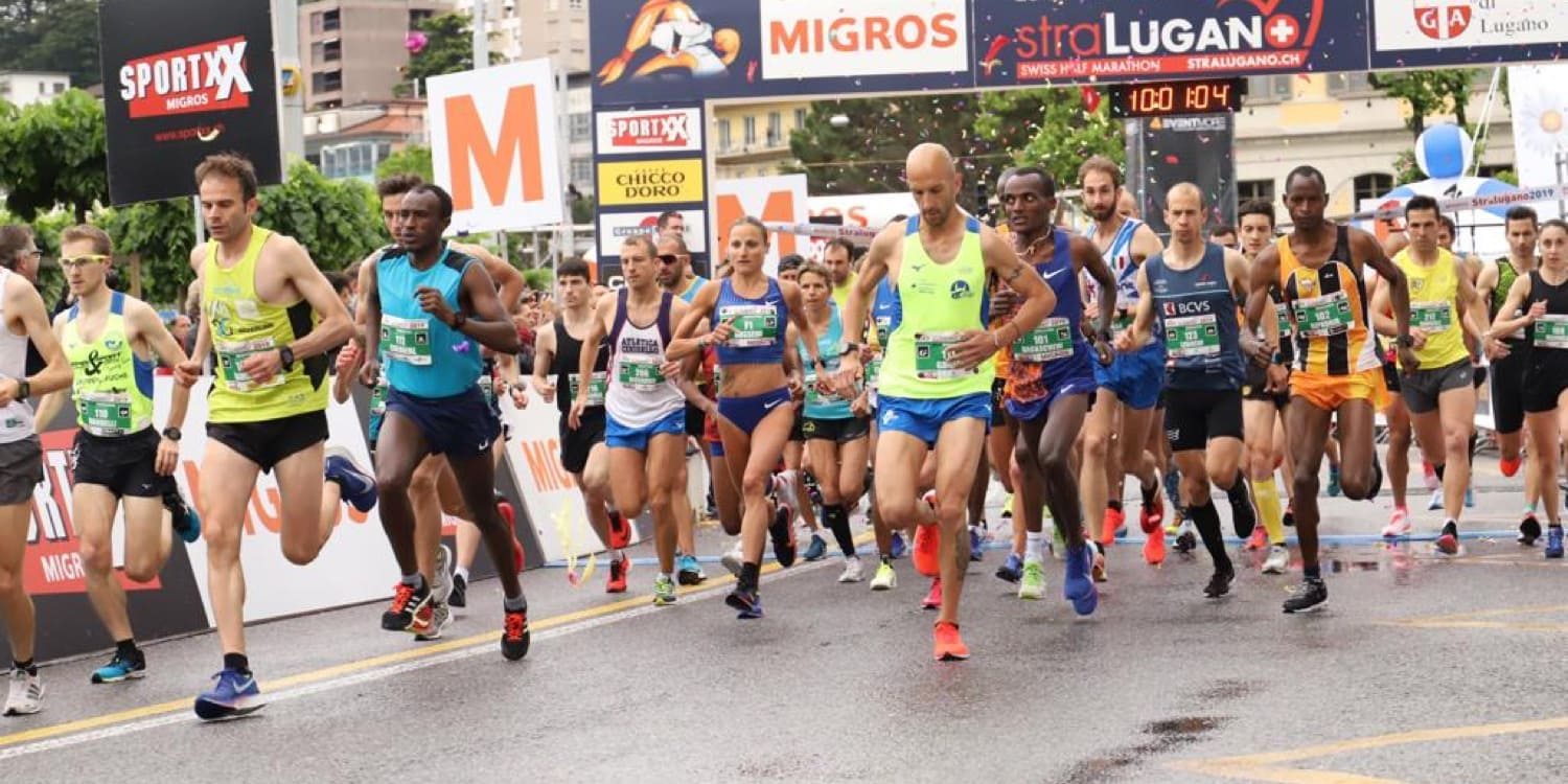 StraLugano Swiss City Run in Lugano